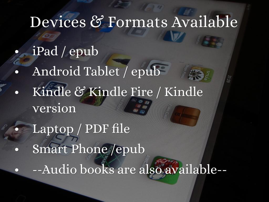 Kindle App Epub