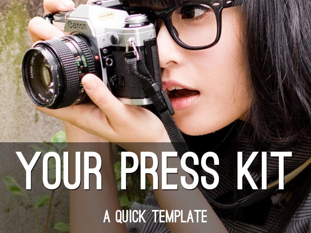 Copia de Your Press Kit: A Quick Template