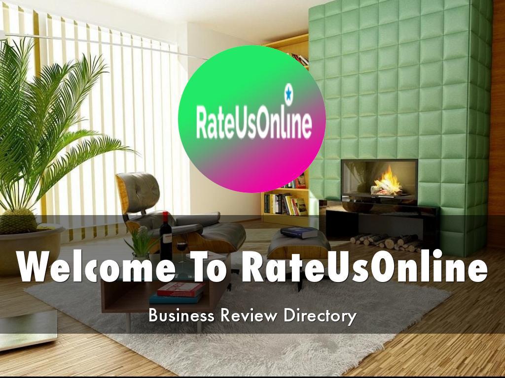 RateUsOnline Presentations
