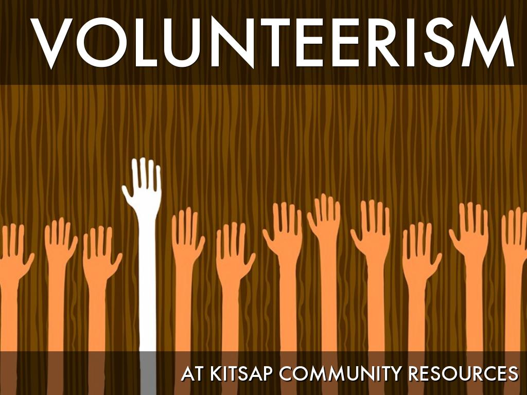 Volunteerism