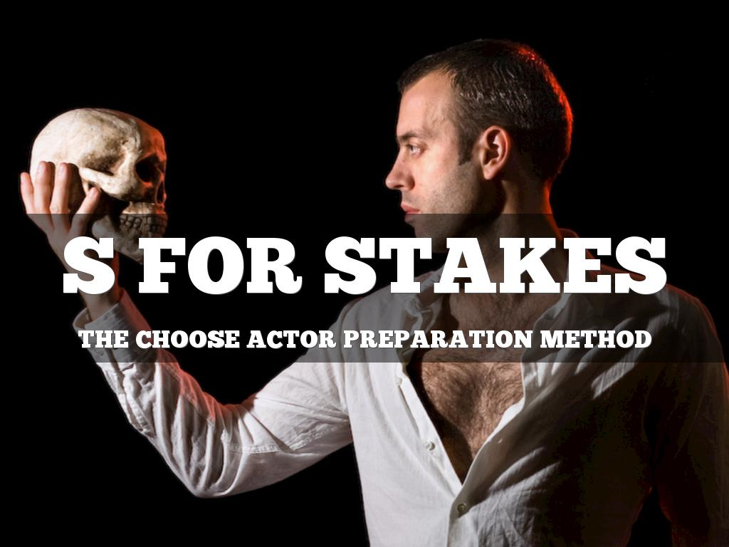 CHOOSE: S is for Stakes