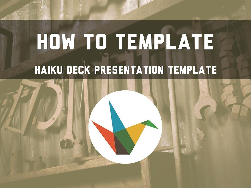 How To Template 的副本