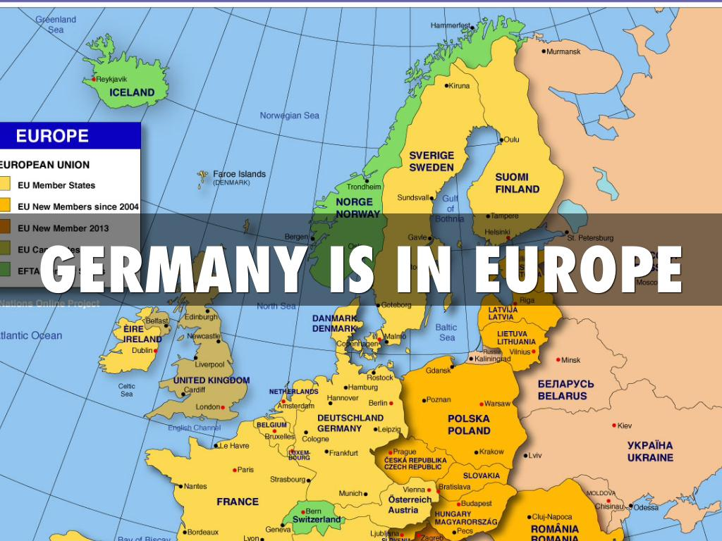 Map Of Germany Natural Resources.Https Www Haikudeck Com P B605b7495d By Ryan Clyde