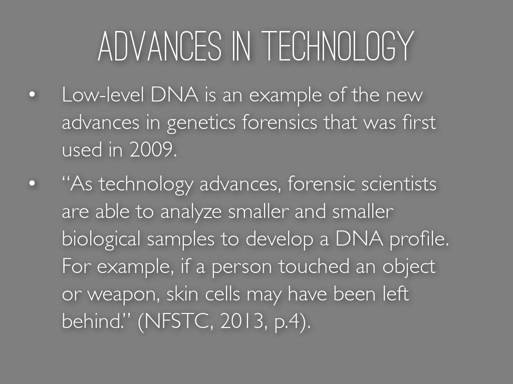 Biology Genetics Technology Research Project By Taylor