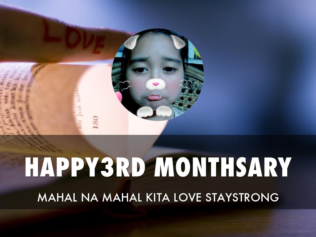 3rd Monthsary
