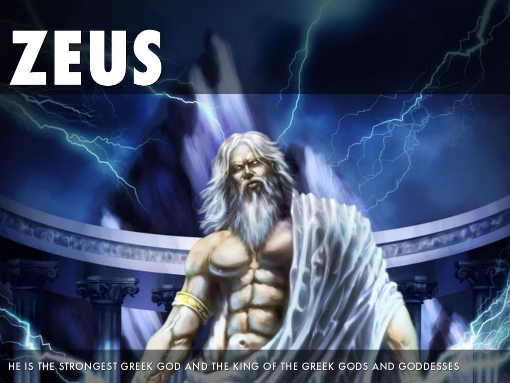Greek Gods By Naomi Burnside
