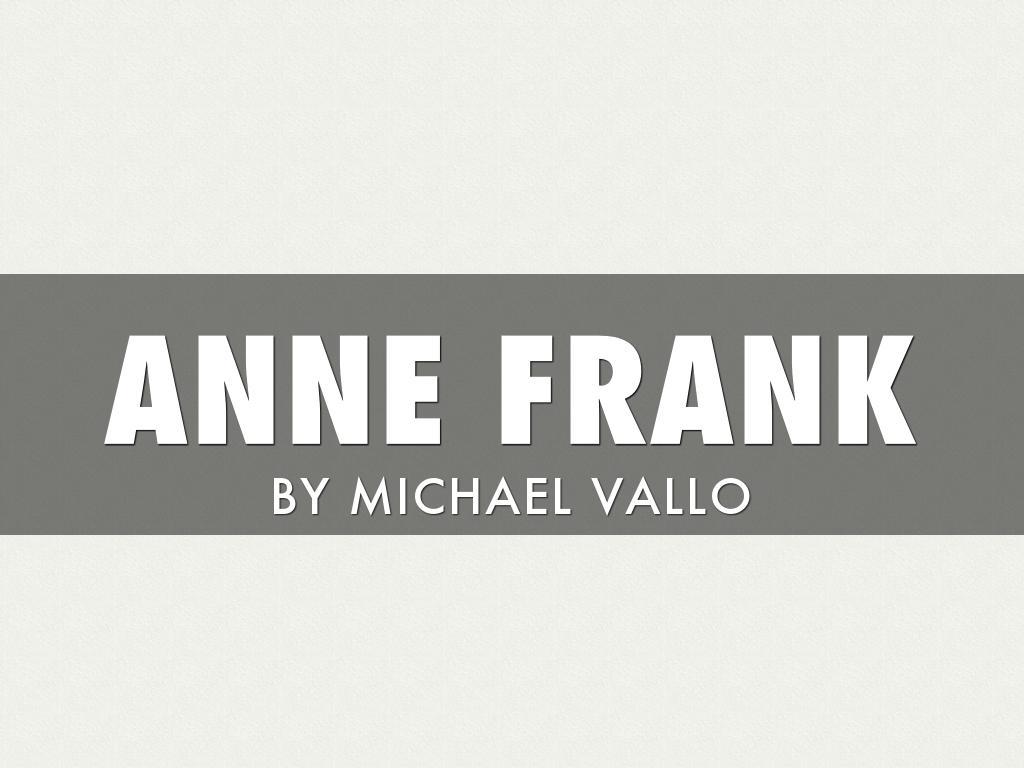 Anne Frank Haiku Deck