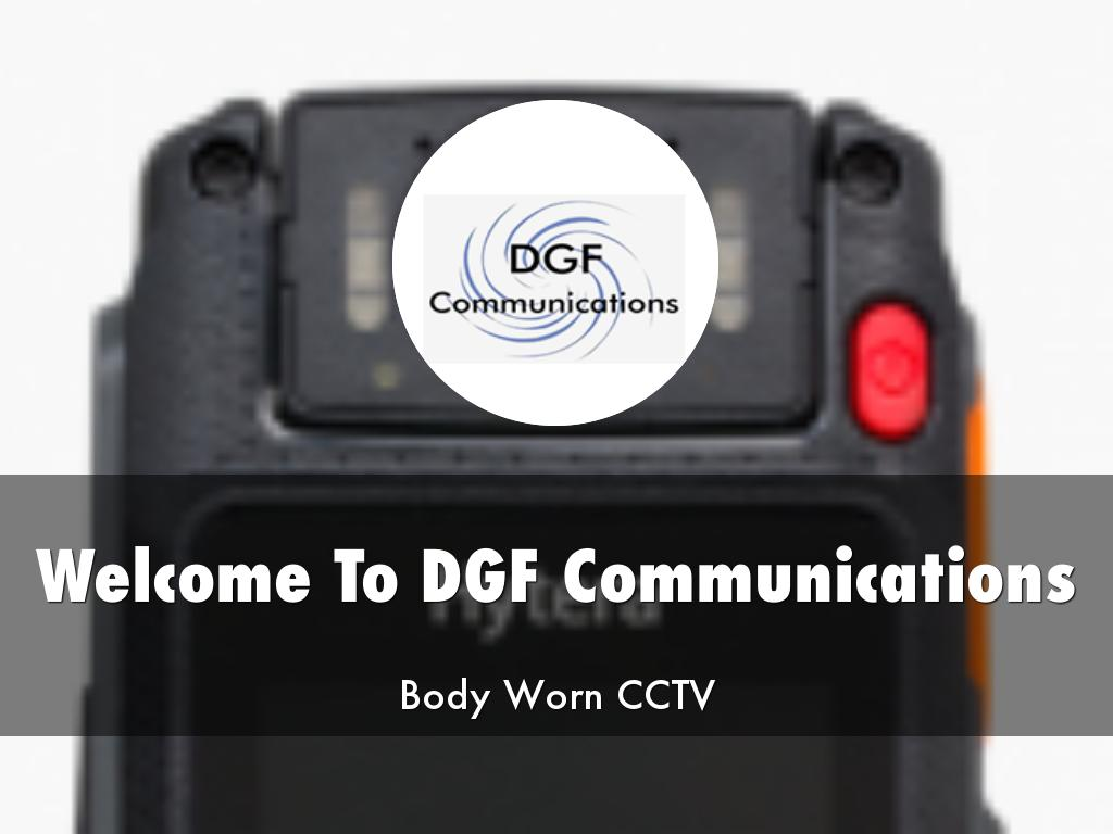 DGF Communications Presentations