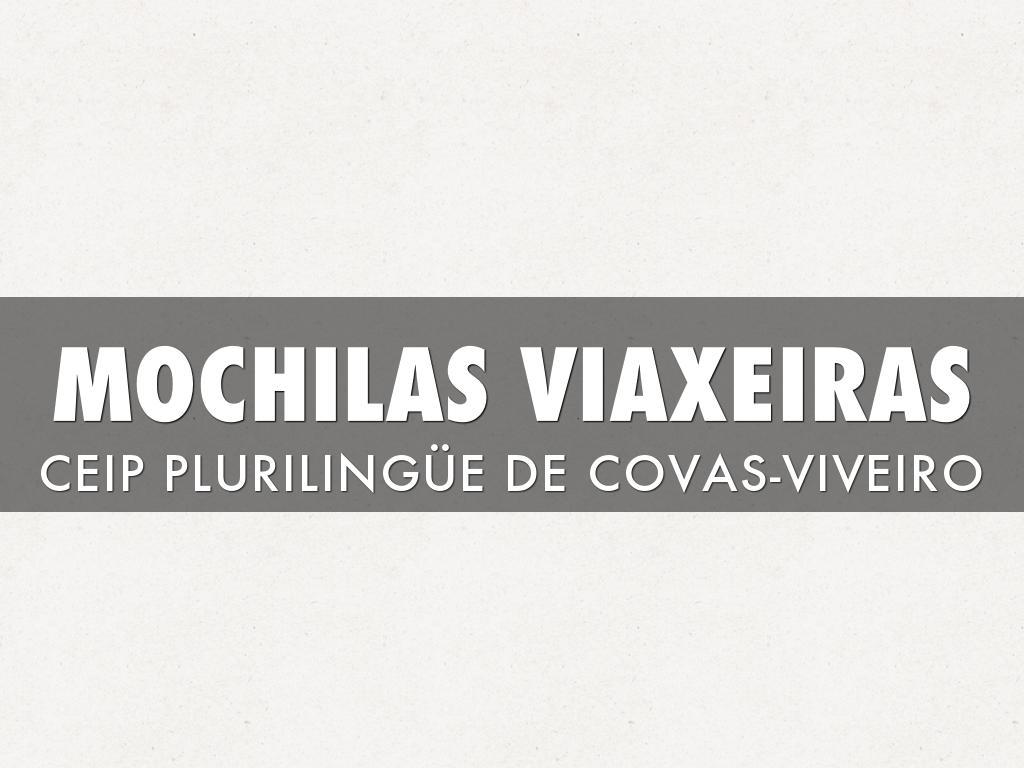 MOCHILAS VIAXEIRAS