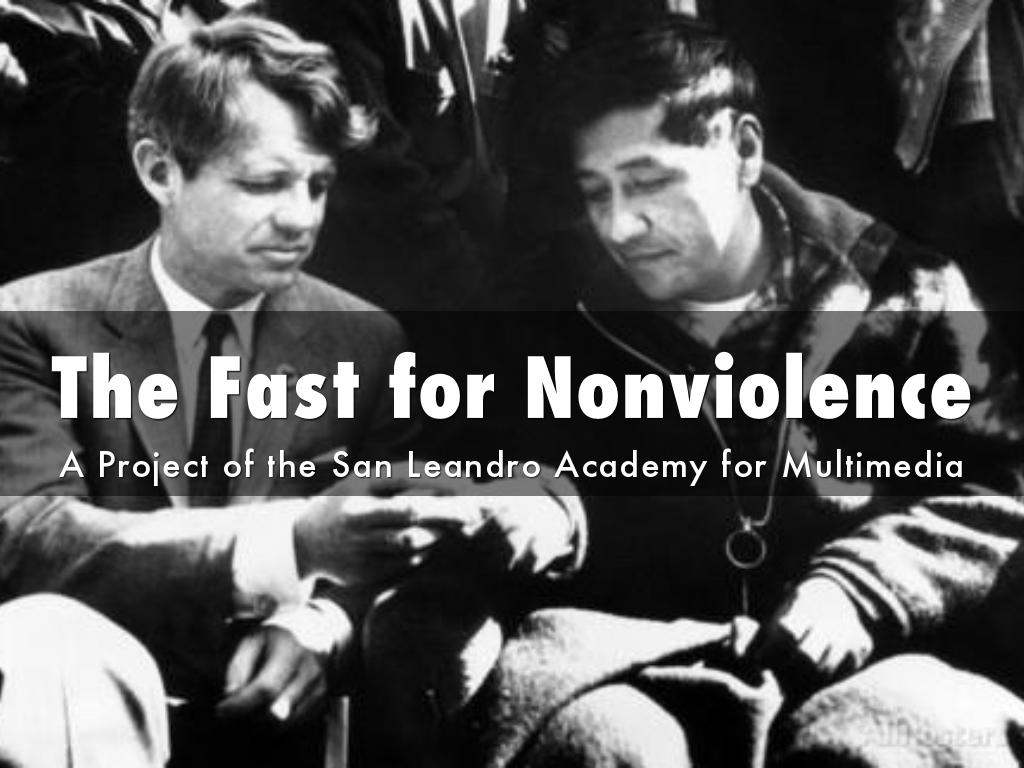 The Fast for Nonviolence