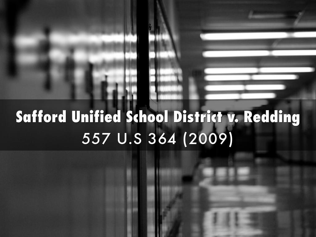 Safford Unified School District v. Redding