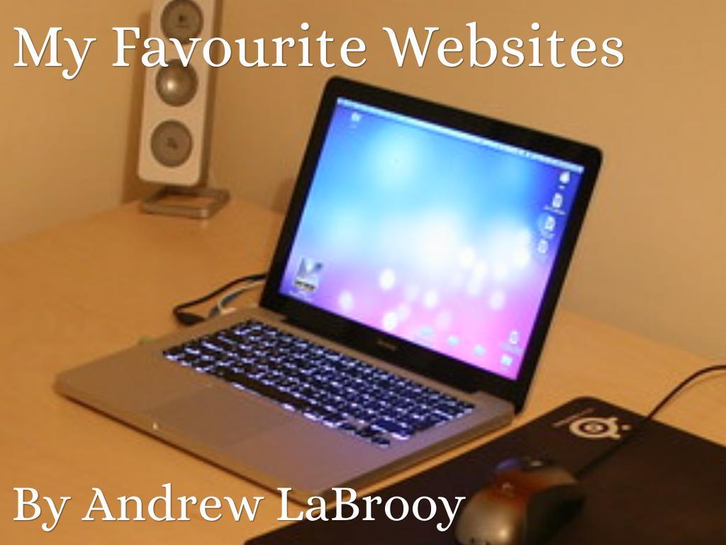 My Favourite Websites
