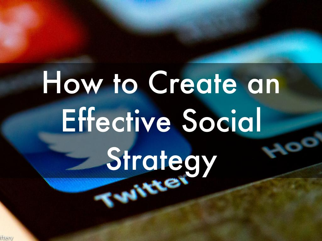 Copie de How to Create a Social Media Strategy