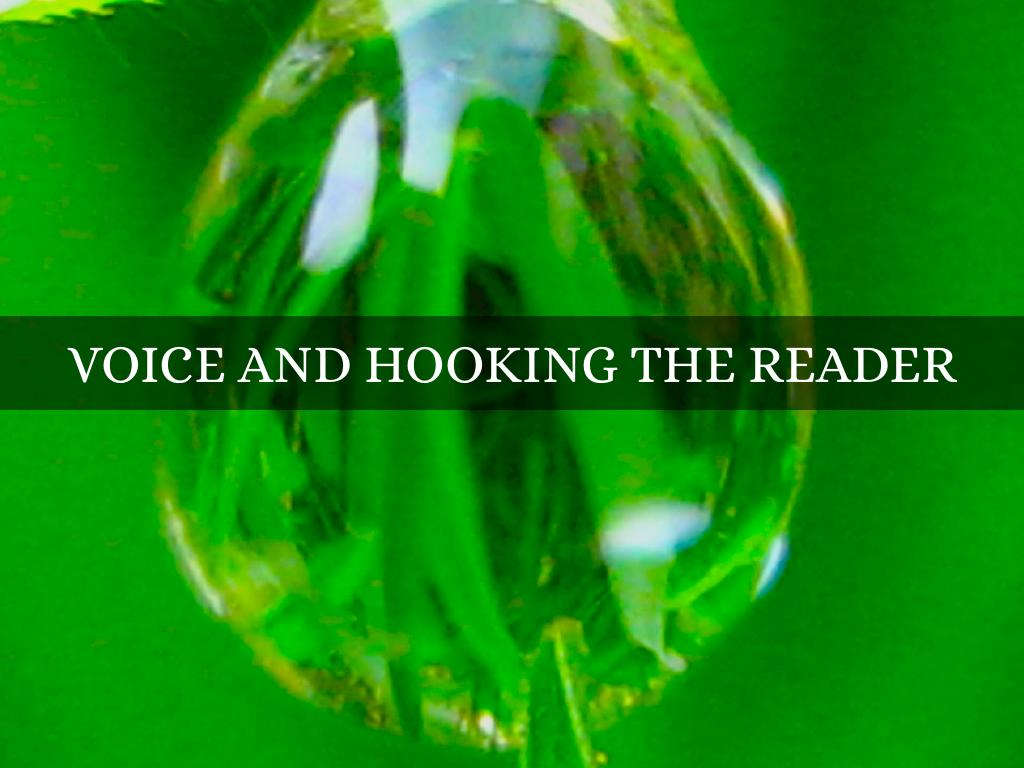 Voice And Hooking The Reader