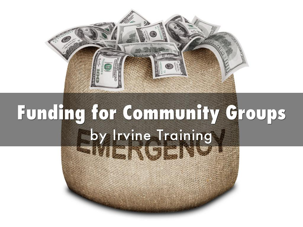 Funding for Community Groups