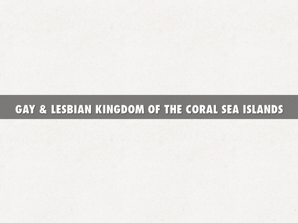 lesbian kingdom of the coral sea islands