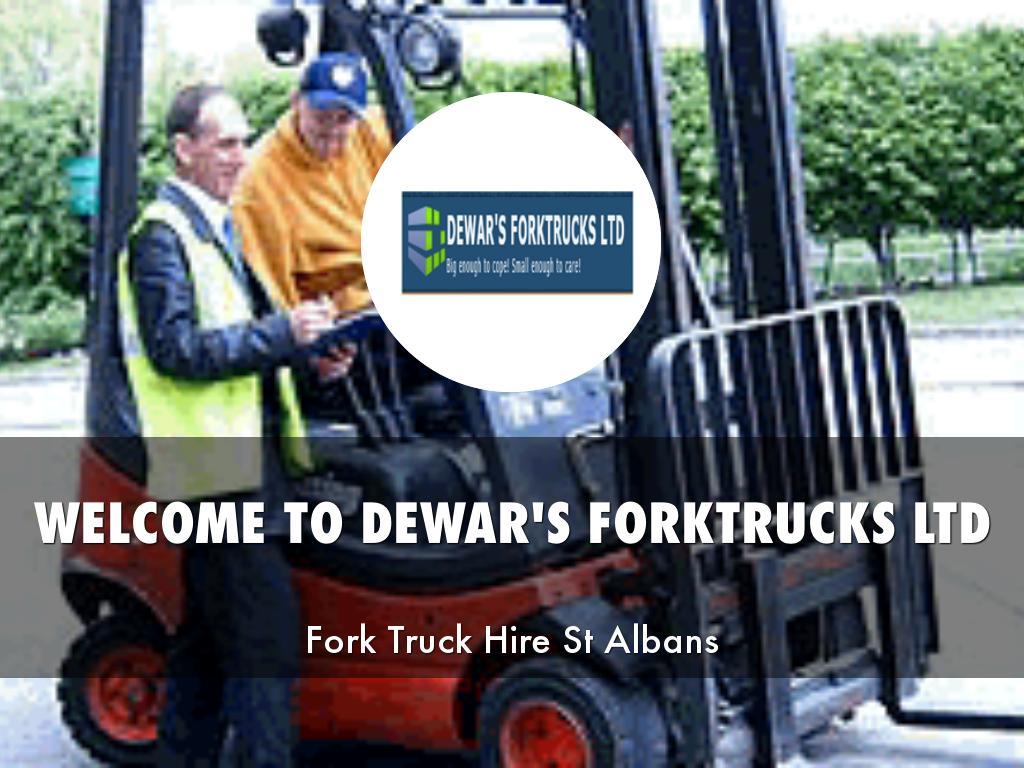 DEWAR'S FORKTRUCKS LTD PRESENTATIONS