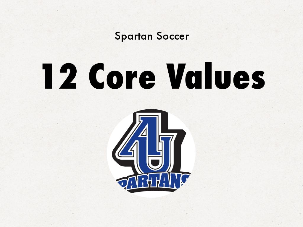 12 Core Values