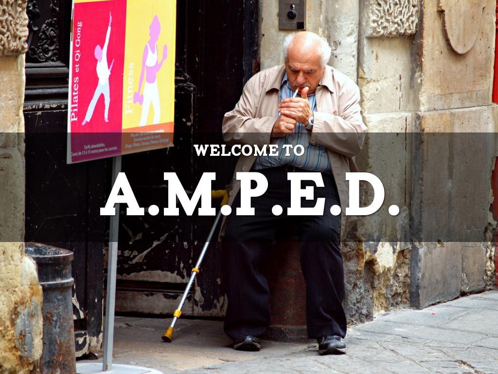 A.M.P.E.D. WEEK 1