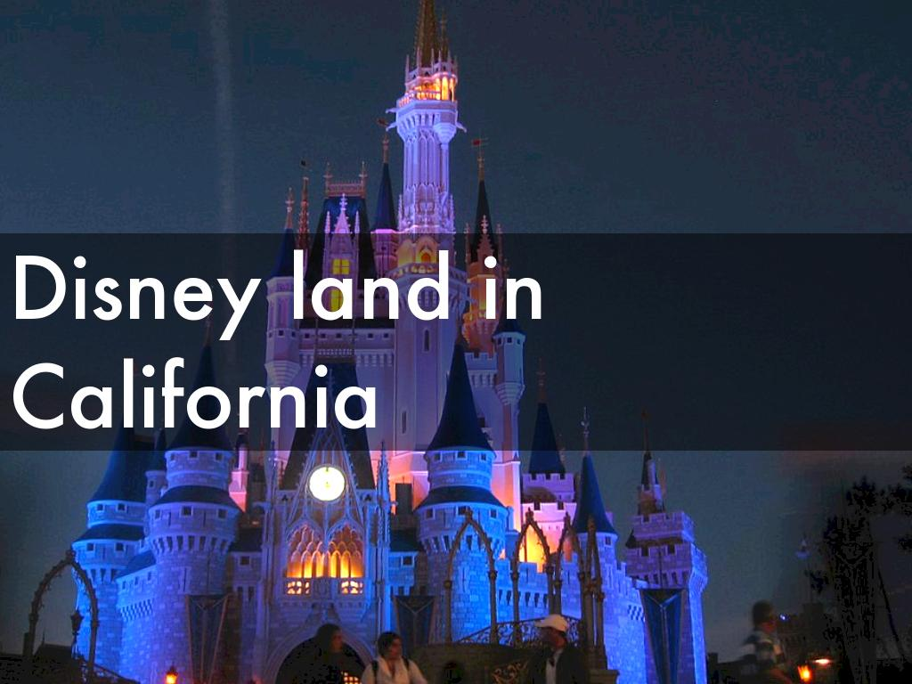 Disney Land In California