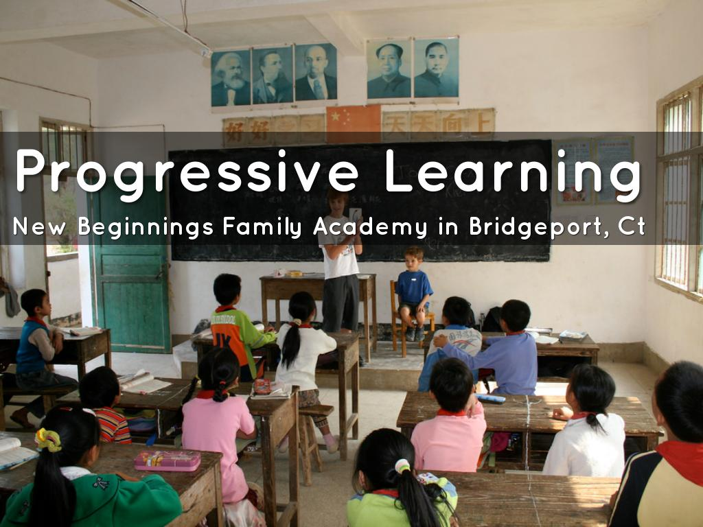 progressive learning Progressive education is a reaction against the traditional style of teaching it's a pedagogical movement which values experience over learning facts at the expense of understanding what is being taught when you examine the teaching styles and curriculum of the 19th century, you understand why.