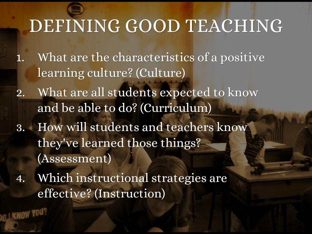 Five Essential Questions Of Teaching And Learning by
