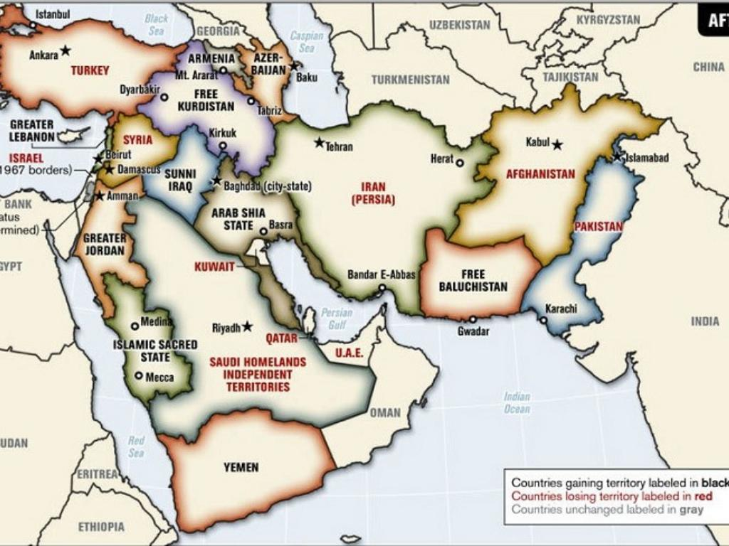 Middle East Map Before Wwii.Independence In The Middle East By Casey Nagy
