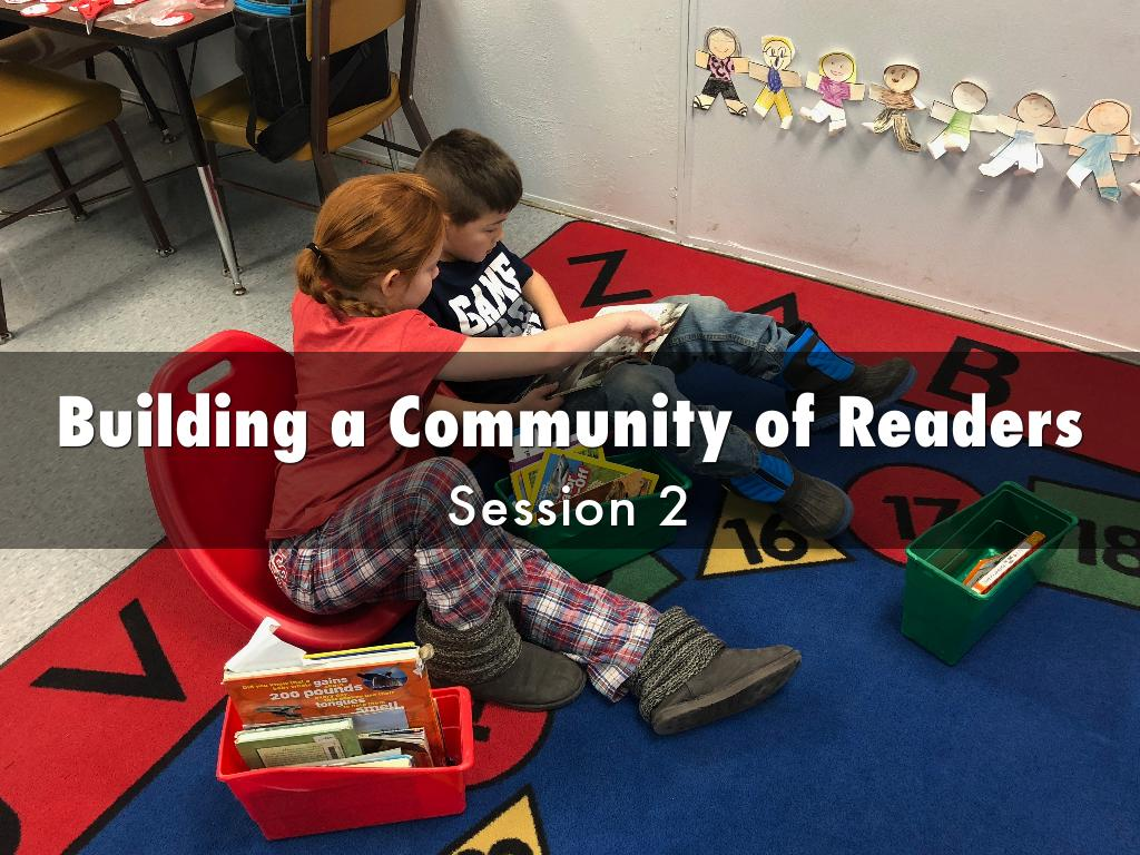 Building a Community of Readers, Session 2