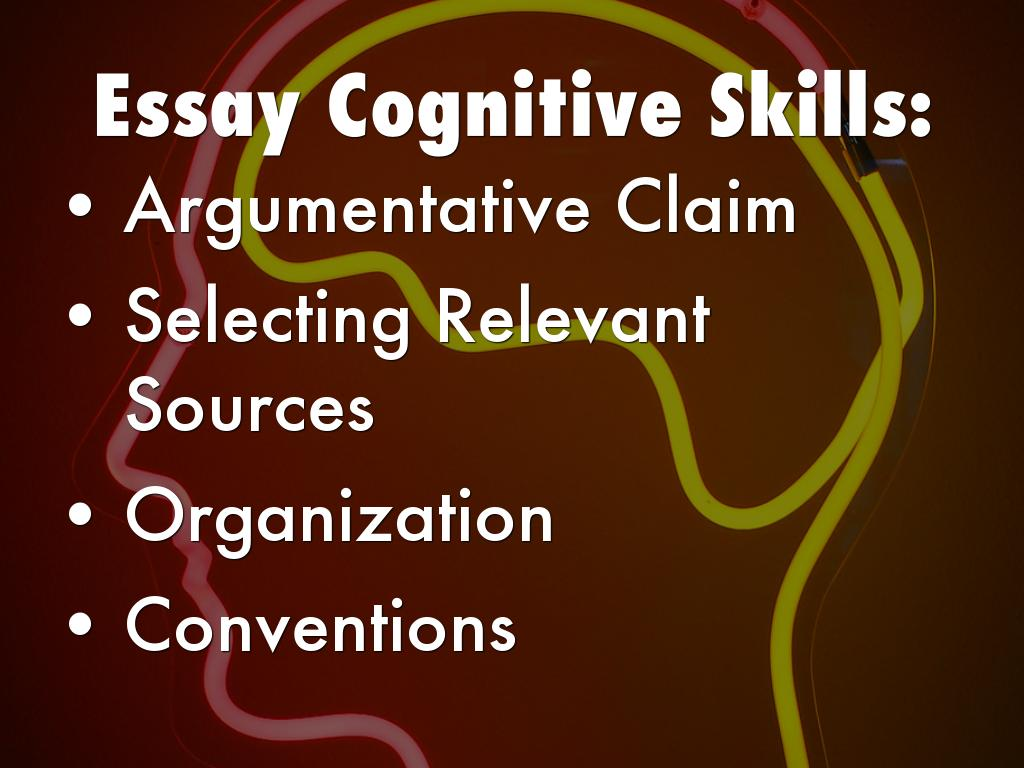 cognition essay
