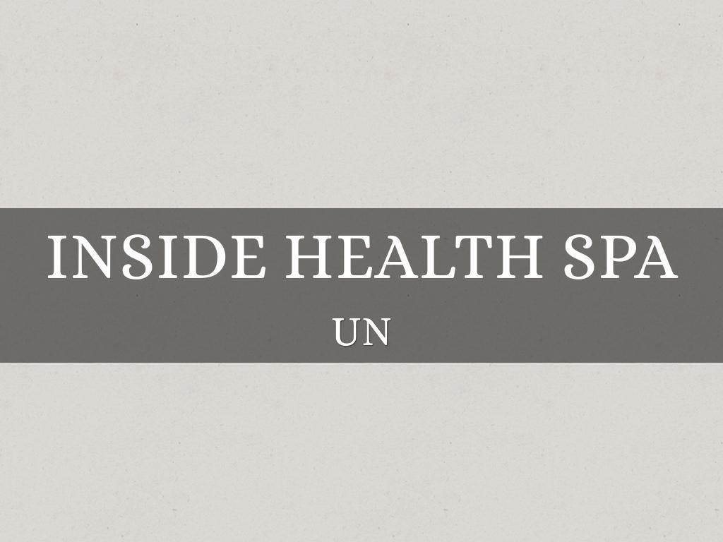 Inside Health Spa