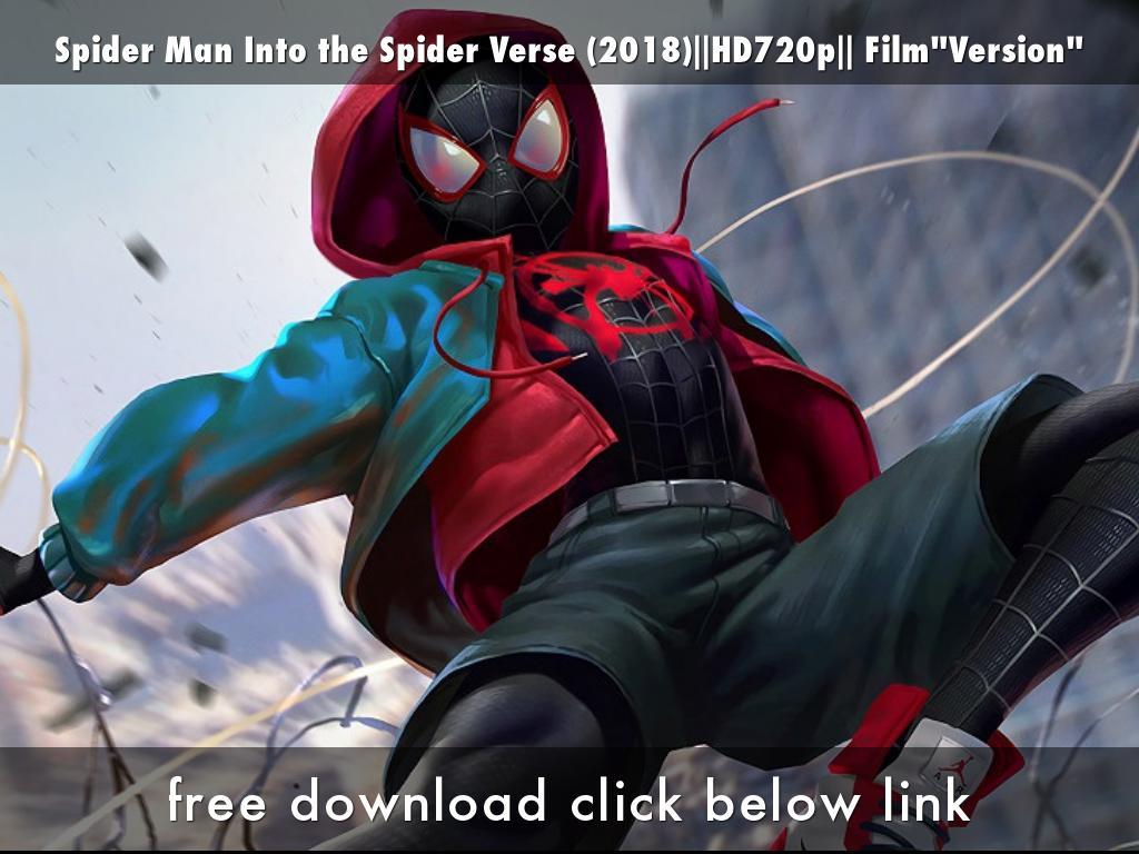 Spider Man Into The Spider Verse 2018 Hd720p