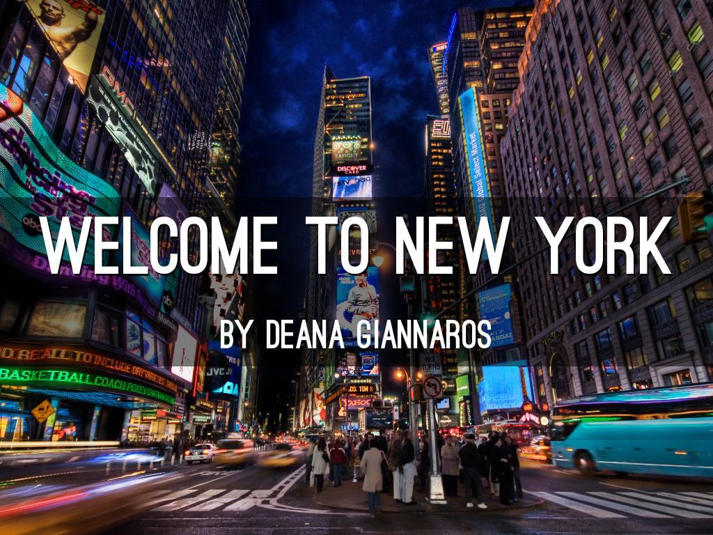 New York By Deana Gia