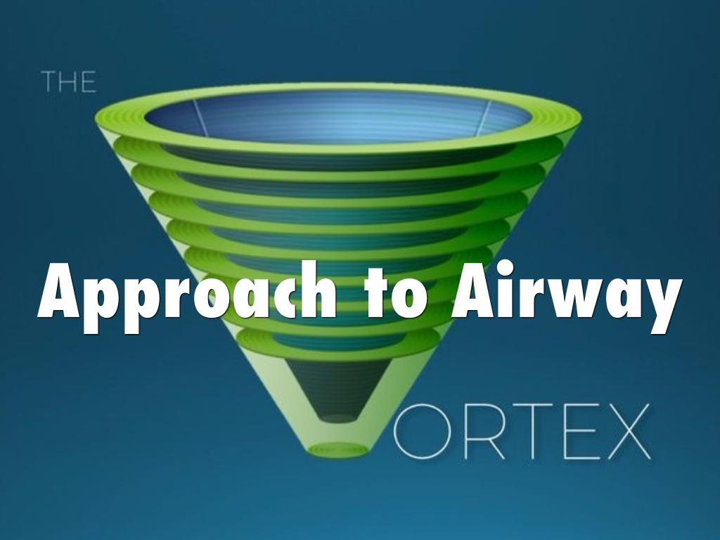 Prioritizing Oxygenation - The Vortex Approach