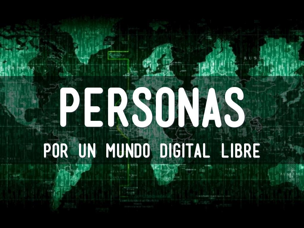 Personas por un mundo digital Libre