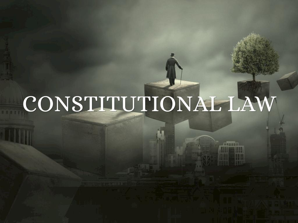 Constitutional law by Scott Wimble
