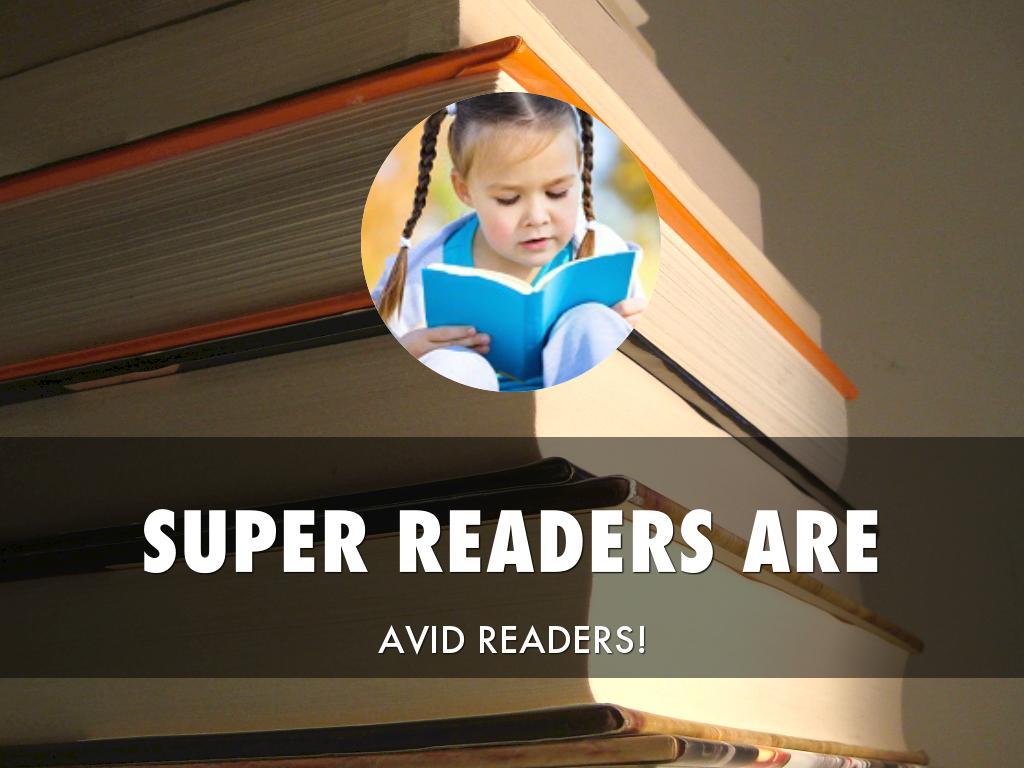 We Are Avid Readers