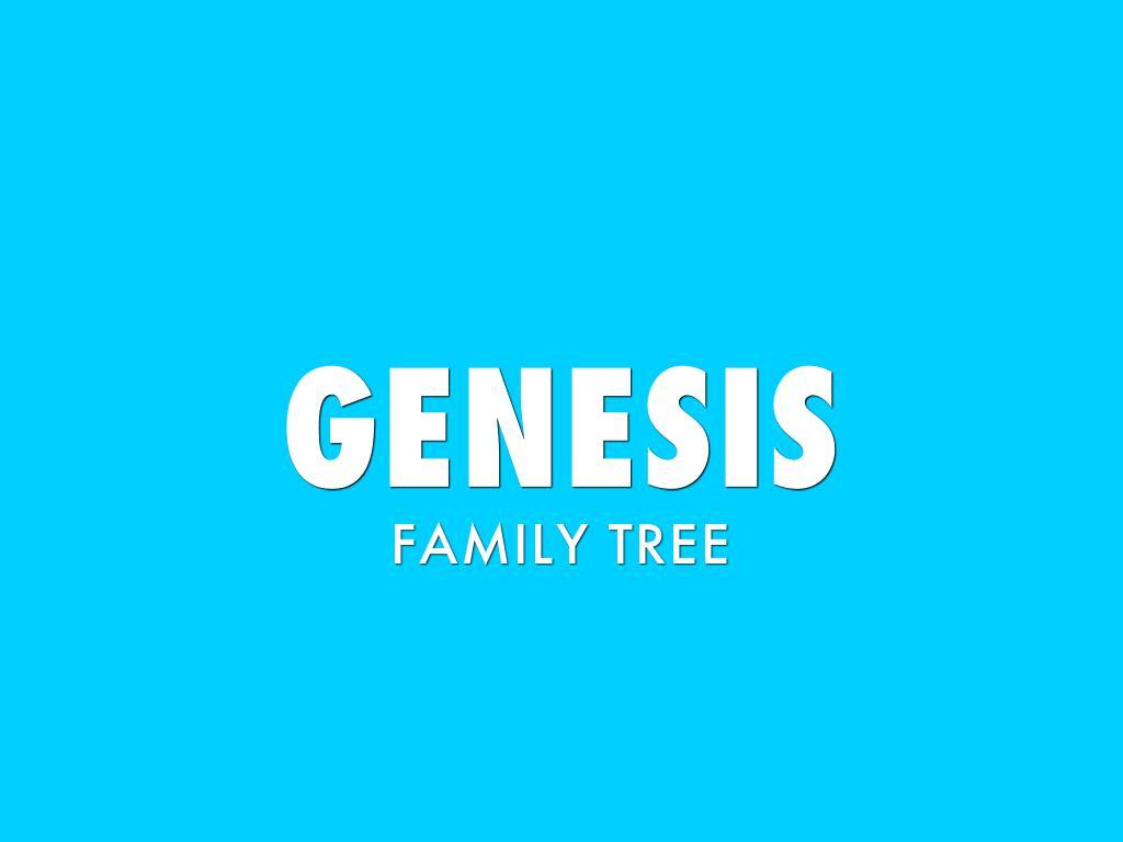 Genesis Family Tree