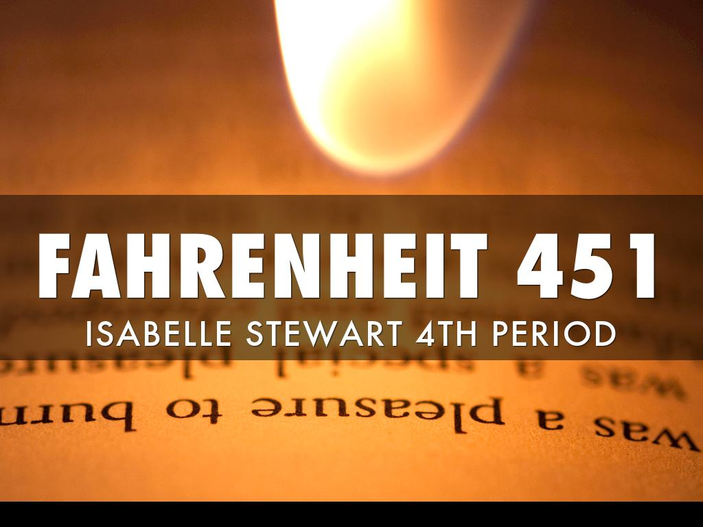 a comparison of two societies in the novel fahrenheit 451 We have many aldous huxley example essays that answers many  utilized this concept in his work, fahrenheit 451,  aldous huxley creates two distinct societies:.