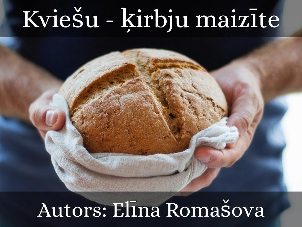 Kviešu - ķirbju maizīte