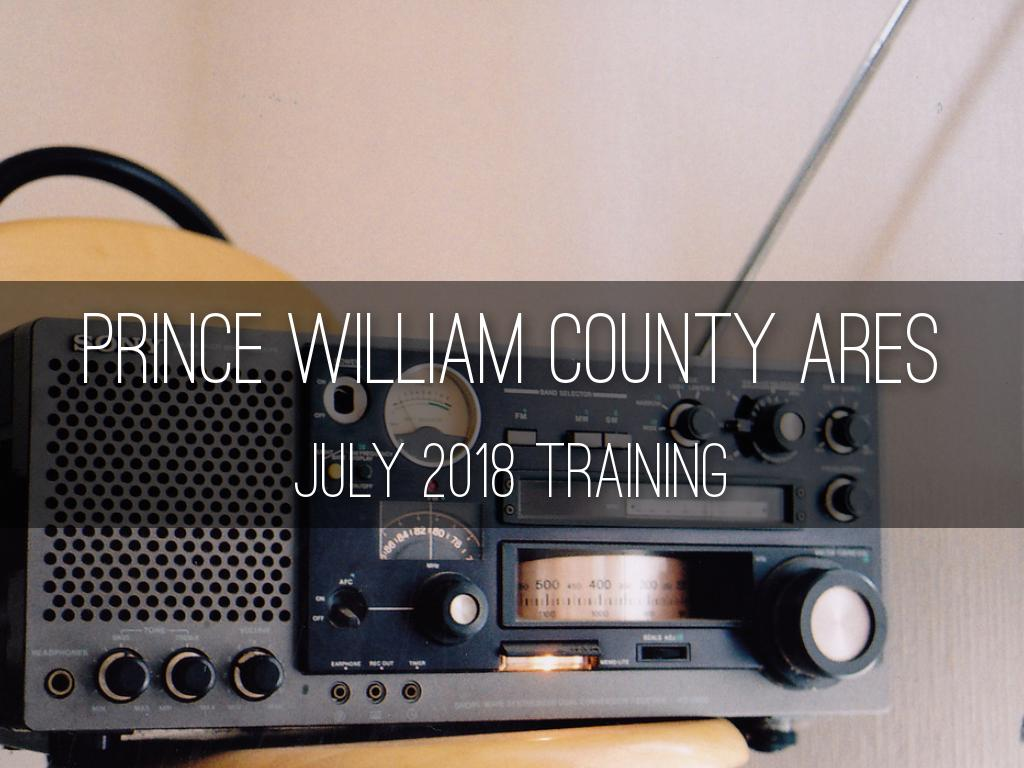Prince William County ARES