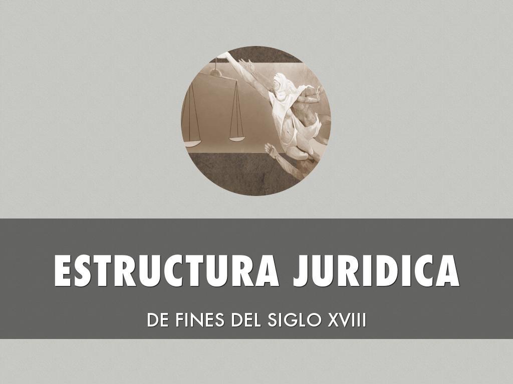 Estructura Jurídica En El Siglo Xviii By Laura Salcedo