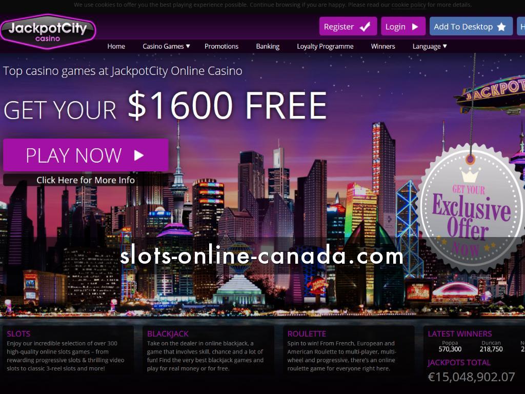Review Jackpot City Casino