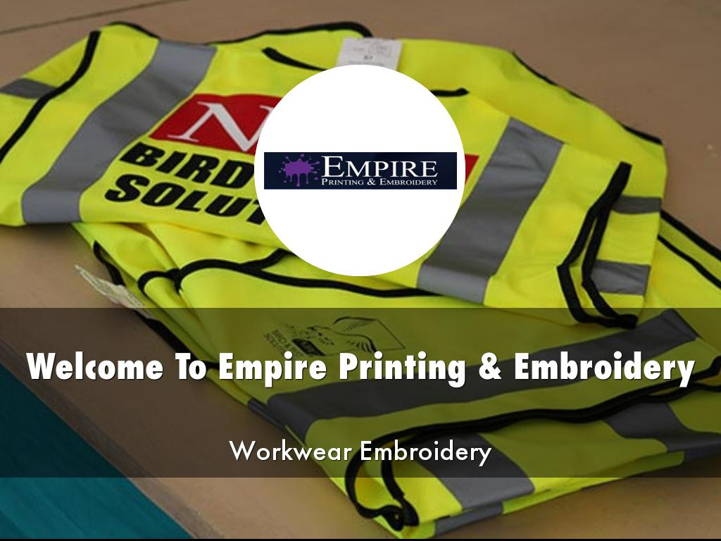 Empire Printing & Embroidery Presentations